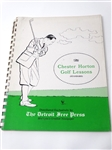 CHESTER HORTON GOLF LESSONS PUBLISHED BY THE DETROIT FREE PRESS