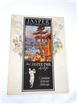 ADVERTISEMENT BROCHURE FOR JASPER IN THE CANADIAN ROCKIES