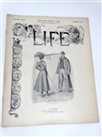 MARCH 1898, LIFE MAGAZINE WITH GOLF COVER