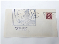 1957 FIRST DAY OF ISSUE ENVELOPE COMMEMORATING PRESIDENT DWIGHT D. EISENHOWER PLAYIN IN AUGUSTA NATIONAL G.C.