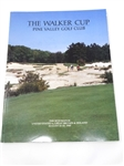 PINE VALLEY GOLF CLUB OFFICIAL PROGRAM FROM THE WALKER CUP 30TH MATCH HELD IN 1985