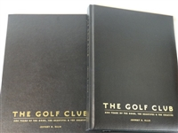 THE GOLF CLUB LIMITED EDITION # 31/ 400 BOUND BOOK SIGNED BY THE AUTHOR JEFFREY ELLIS
