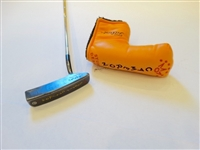 SCOTTY CAMERON PUTTER , THE NEW STUDIO DESIGN 1.5. USED WITH A HEAD COVER