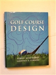 AUTOGRAPHED GOLF COURSE DESIGN BY ONE OF THE AUTHORS GEOFFREY S. CORNISH, 1999