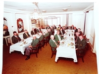 1981 MASTERS CLUB DINNER IN AUGUSTA NATIONAL GOLF CLUB WITH THE WINNERS OF THE GREEN JACKET