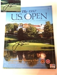 SIGNED BY JACK NICKLAUS 1997 US OPEN OFFICIAL MAGAZINE, CONGRESSIONAL COUNTRY CLUB