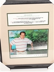 JIM NANTZ SIGNED PHOTO - CBS-TV ANCHOR OF THE MASTERS TELECAST