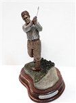 "BOBBY JONES SCULPTURE BY MICHAEL ROCHE  TITLED ""MAKING OF A LEGEND"""