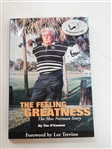 "MOE NORMAN AUTOGRAPHED BOOK ""THE FEELING OF GREATNESS"" - THE MOE NORMAN STORY"