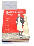 "WALTER HAGEN SIGNED FIRST EDITION 1956 BOOK -""THE WALTER HAGEN STORY"""