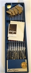 BEN HOGAN SET OF 9 IRONS IN ORIGINAL BOX, NEVER USED WITH COA