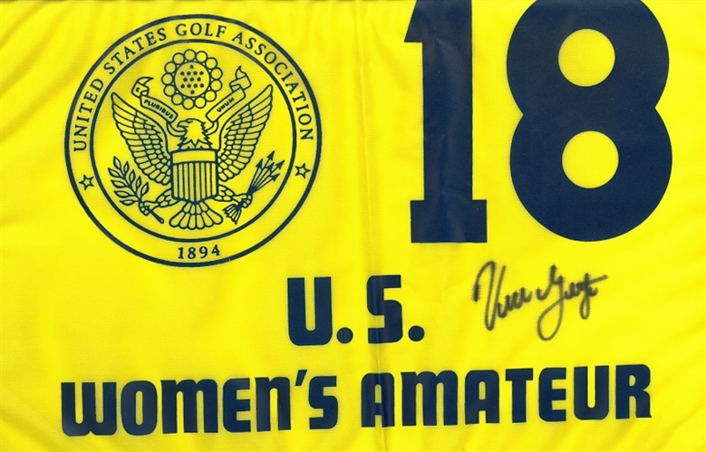 Signed by Vicki Goetz US Womens Amateur at Pinehurst No. 2