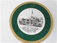 AUGUSTA NATIONAL GOLF CLUB MEMBERS GIFT PLATE #7 GIVEN IN 1995 MASTERS. BEN CRENSHAW WAS WINNER