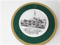 AUGUSTA NATIONAL GOLF CLUB MEMBERS GIFT PLATE #4 GIVEN IN 1993 TO THE MEMBERS DURING THE MASTERS