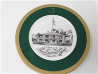 AUGUSTA NATIONAL GOLF CLUB MEMBERS GIFT PLATE #3 GIVEN IN 1993 MASTERS. BERNHARD LANGER WAS WINNER