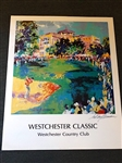 "LEROY NEIMAN SIGNED PRINT OF WESTCHESTER CLASSIC - IMAGE SIZE 22"" X 28.5"""