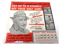 VINYL LP RECORD OF GOLF LESSONS BY TOMMY ARMOUR, HEAR THE WORLDS GREATEST TEACHER