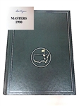 SIGNED BY BEN HOGAN 1990 MASTERS TOURNAMENT ANNUAL BOOK