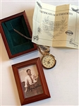 """BYRON NELSON"" WATCH, LTD. ED. OF 2500 PERSONALLY AUTOGRAPHED BY BYRON NELSON"