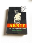 "AUTOGRAPHED BY ARNOLD PALMER BOOK ""ARNIE"" BY MARK H. MCCORMACK, SECOND PRINTING WITH DUST JACKET"