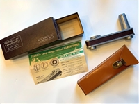 VERY RARE EARLY FEDERAL LONG-RANGE OPTICAL RANGEFINDER VINTAGE