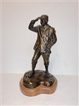 "VERY SCARCE SOLID BRONZE STATUE OF THE SCOT BY BRAD PEARSON- 15"" HIGH"