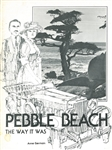 1975 PEBBLE BEACH: THE WAY IT WAS BY ANNE GERMAIN