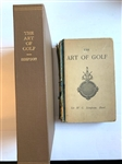 1892 1ST ED. THE ART OF GOLF BY SIR W.G. SIMPSON, BART. THE SPINE IS WORN BUT INSIDE PAGES ARE IN GOOD CONDITION