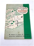 THE 1954 MASTERS TOURNAMENT SPECTATORS GUIDE- SAM SNEAD WIN