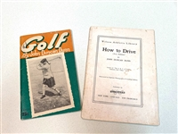 1941 AND 1922 INSTRUCTIONAL TWO BOOKLETS BY JOHN DUNCAN DUNN