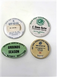 COLLECTION OF 4 PINS FROM ED CARTER, WHO WAS P.G.A. TOURNAMENT DIRECTOR