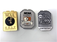 COLLECTION OF 3 BADGES FROM NCAA MENS DIVISION FROM 1994, 2003 AND 2004