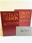 BYRON NELSON SIGNED LTD. ED. No.168/500  BOOK HOW I PLAYED THE GAME BY BYRON NELSON
