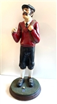 "LARGE STATUE POLYRESIN OF GOLFER - HAND CRAFTED AND HAND PAINTED, 25"" TALL"