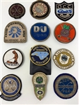 COLLECTION OF 12 BLAZER PATCHES FROM DIFFERENT CHAMPIONSHIPS, GOLF CLUBS & ORGANIZATIONS