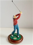 ARNOLD PALMER GOLF CHAMPION PITTSBURGH DANBURY MINT STATUE. COMES WITH COA.