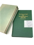 THE GAME OF GOLF AND THE PRINTED WORD 1566-1985. SIGNED BY RICHARD DONOVAN TO PETE JONES