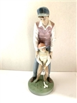 "LLADRO FIGURINE ""LIKE FATHER, LIKE SON"" - 12.25"" TALL. CREATED IN 1999 AND RETIRED IN 2002. GREAT FATHERS DAY GIFT."