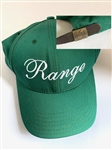 "RARE CAP FROM MASTERS TOURNAMENT ""RANGE"" WITH LOGO BUCKLE AND MASTERS LABLE INSIDE (NOT USED)"