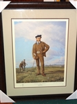 YOUNG TOM MORRIS SIGNED AND NUMBERED BY LEGENDARY ARTIST ARTHUR WEAVER