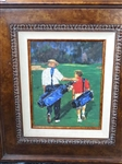 LIMITED EDITION BY SCOTT MEDLOCK OF FATHER AND SON - FRAMED