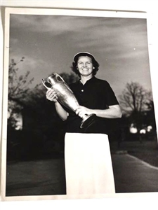 PEGGY KIRK BELL - OHIO STATE CHAMPION 1947