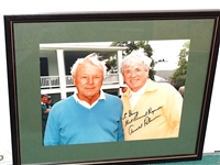ARNOLD PALMER PHOTO  PERSONALIZED SIGNATURE TO DOUG SANDERS