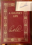 ARNOLD PALMER, SIGNED LEATHER BOUND LTD.ED. BOOK #278/2500, COLLECTORS EDITION BY AUTHOR JAMES DODSON