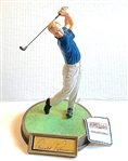 ARNOLD PALMER HAND SIGNED LTD. ED. #342/975 FIGURINE BY 1992 SPORTS IMPRESSIONS
