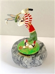 RON LEE, 1993 SIGNED WARNER BROTHERS, STATUE BUGS BUNNY GOLF FIGURINE. LTD. ED #971/1000
