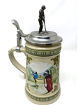 CIRCA 1950 GERMAN GOLF THEME STEIN MADE BY DOMEX