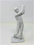 "KAISER FIGURINE GOLFER, MADE IN W. GERMANY. 9.75"" TALL."