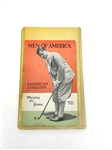 MEN OF AMERICA SPORTS BROCHURE FEATURING COVER BOBBY JONES