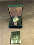 2001 MASTERS TOURNAMENT LIMITED EDITION MENS WATCH IN ORIGINAL BOX -NEW